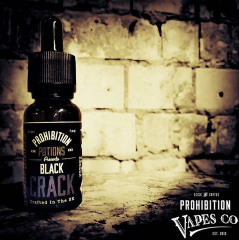 Black Crack by Prohibition Potions 10mls