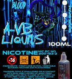 Smurf's Blood by AVB UK E-Liquids 100ml