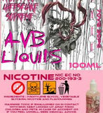 Raspberry Cheesecake Supreme by AVB UK E-liquids 100ml