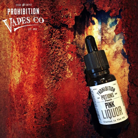 Pink Liquor by Prohibition Potions 10mls