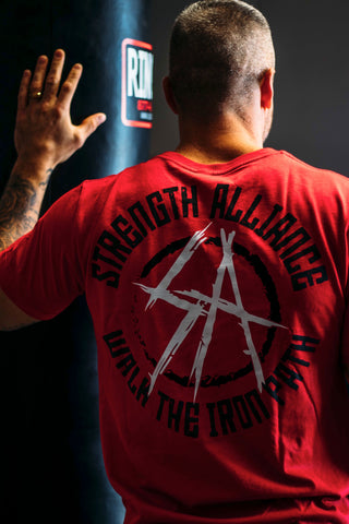 "Official ""SA Club"" T - Red"