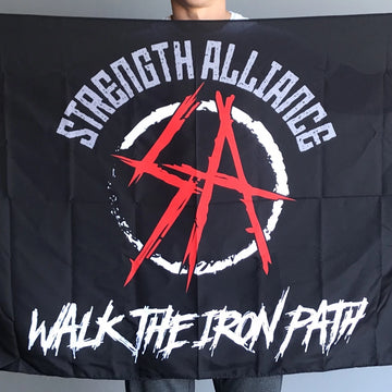 SA Flag - Walk The Iron Path