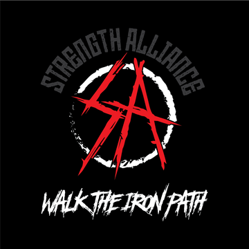 Walk The Iron Path Sticker