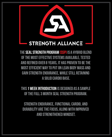 SSP (SEAL Strength Program) - 1 WEEK INTRO COURSE