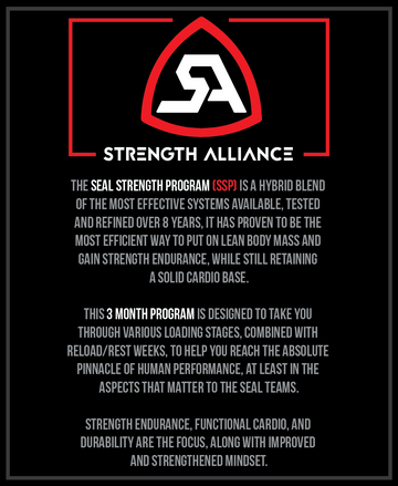 SSP (SEAL Strength Program) - FULL 3 MONTH PROGRAM