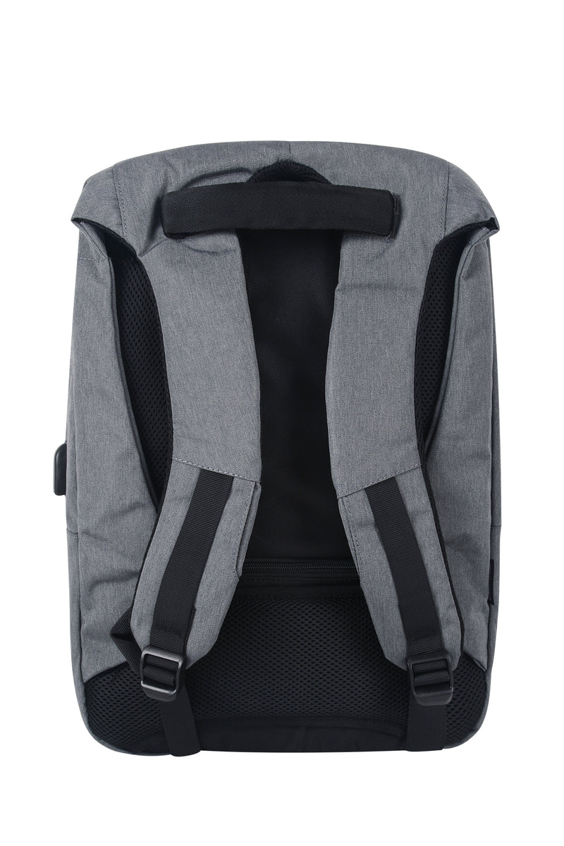 SECURITY LOCK LAPTOP BACKPACK | GREY - 195