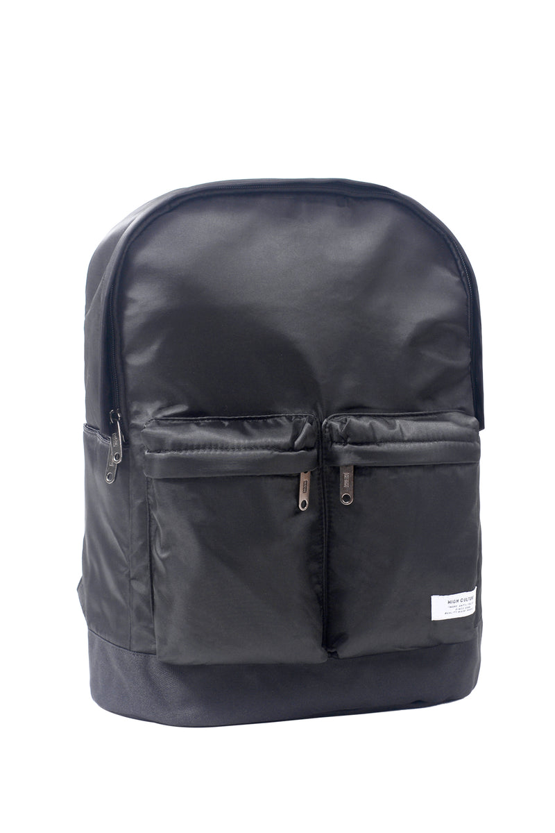 TWO-POCKETS DAYBAG | BLACK - 203