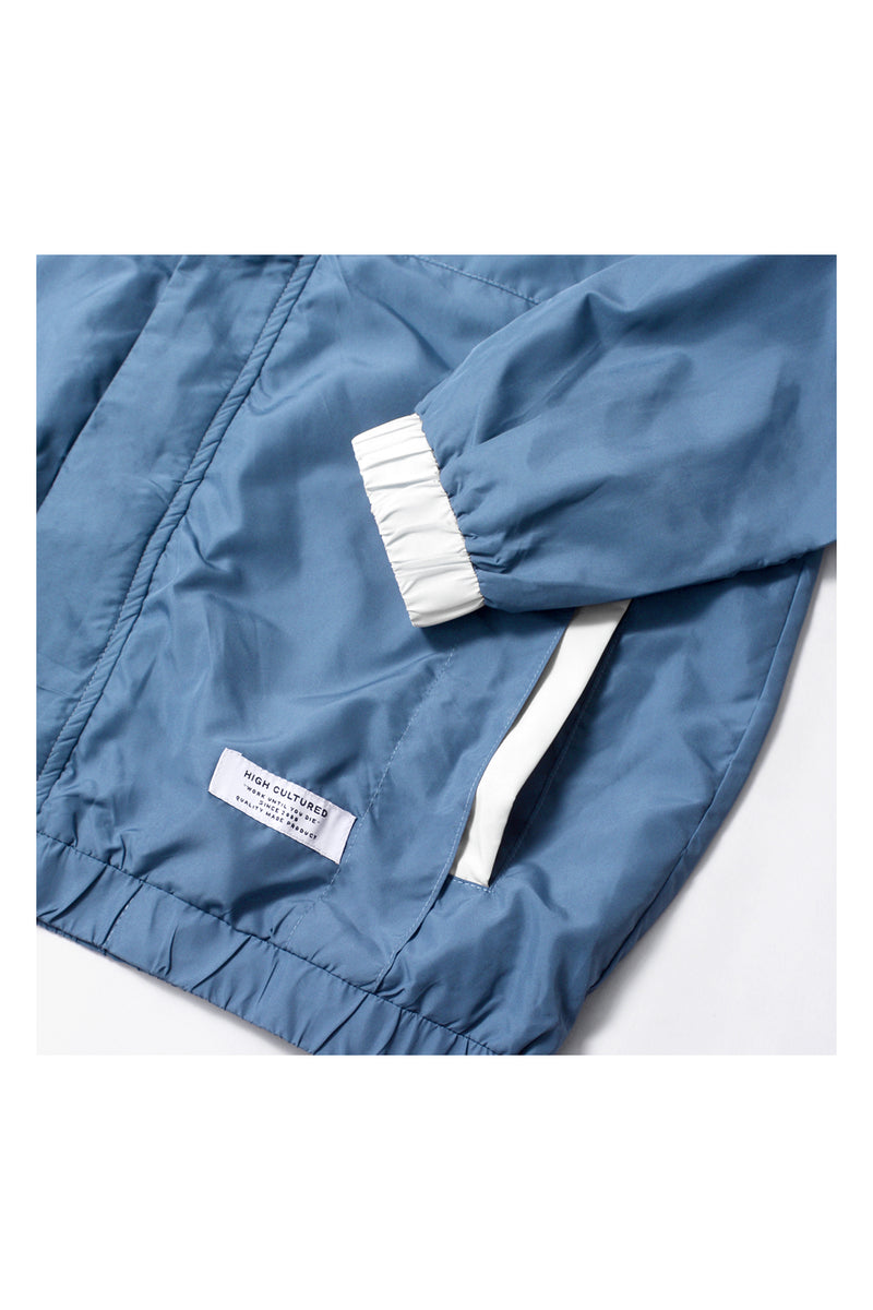 HIGH CULTURED CLASSIC ATHLETICS WINDBREAKER | BLUE - 90