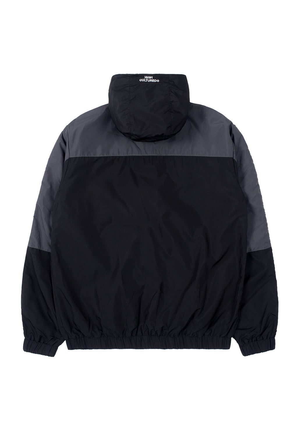 HIGH CULTURED PANNEL ATHLETICS WINDBREAKER | BLACK - 91