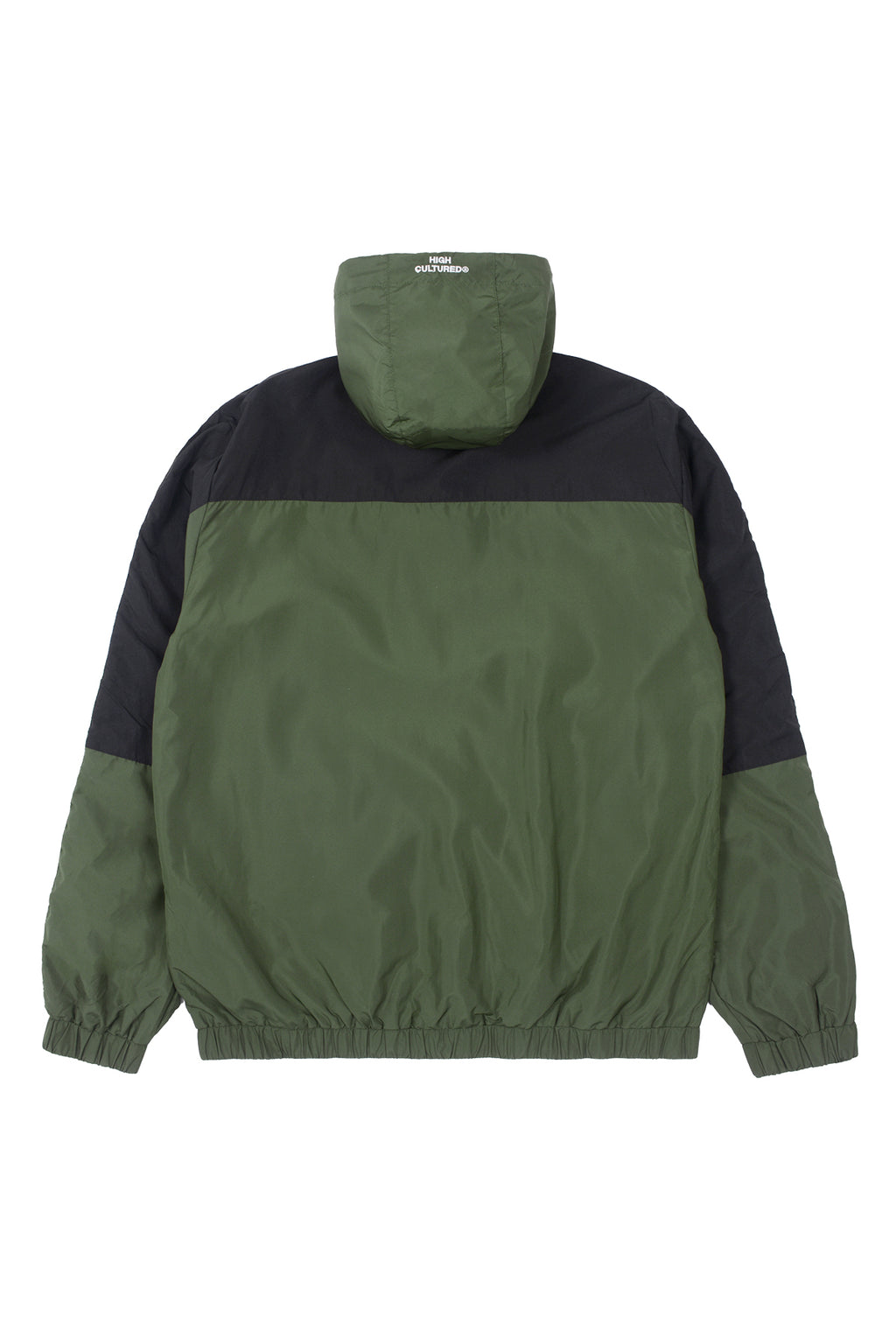 HIGH CULTURED PANNEL ATHLETICS WINDBREAKER | GREEN - 91