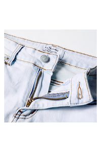 SLIM-FIT HEAVY WASHED RIPPED JEANS - 58