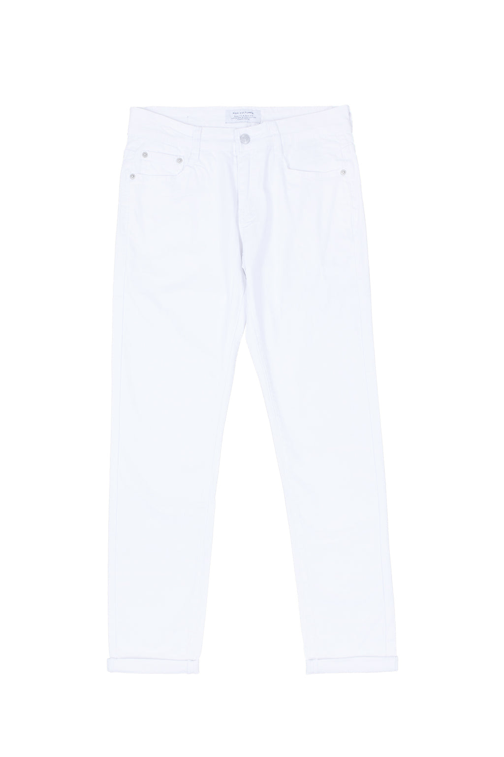SKINNY-FIT LONG PANT | WHITE - 113