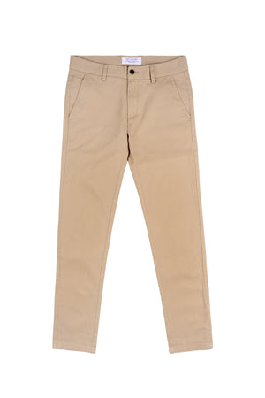 SLIM-FIT CLASSIC CHINO PANT | BEIGE - 121