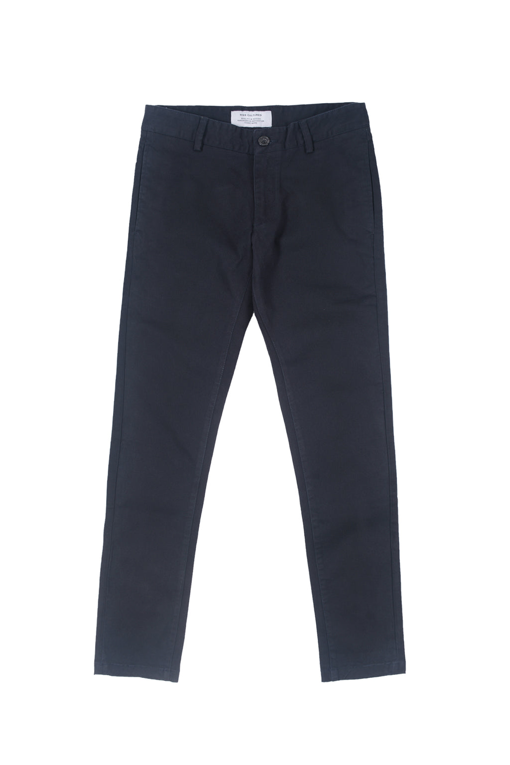 SLIM-FIT HEAVY CHINO LONG PANT | NAVY - 123