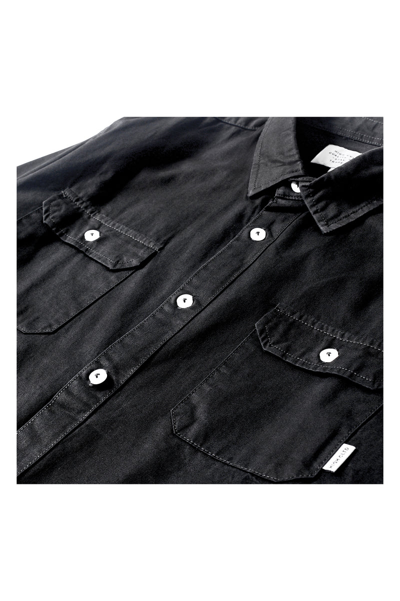 INDUSTRIAL WORKER SHIRT | BLACK - 263