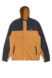 'H' WING HOODED JACKET | CAMEL - 92