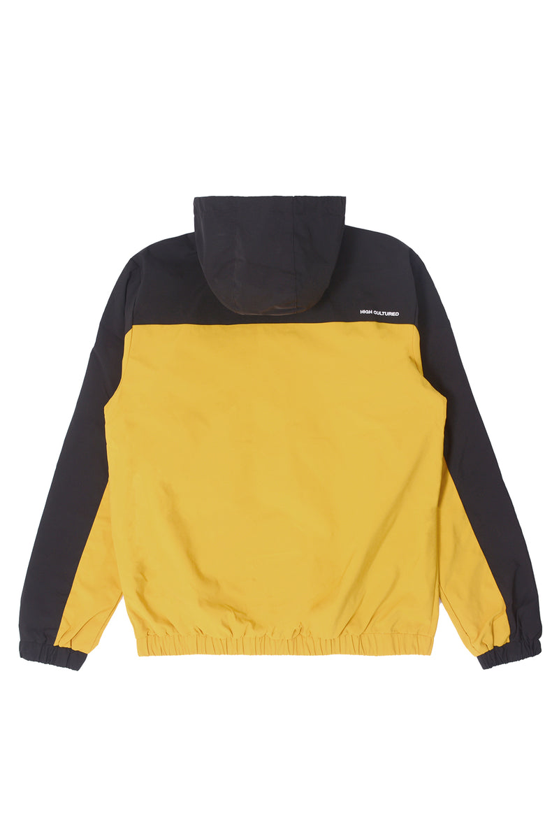'H' WING HOODED JACKET | YELLOW - 92
