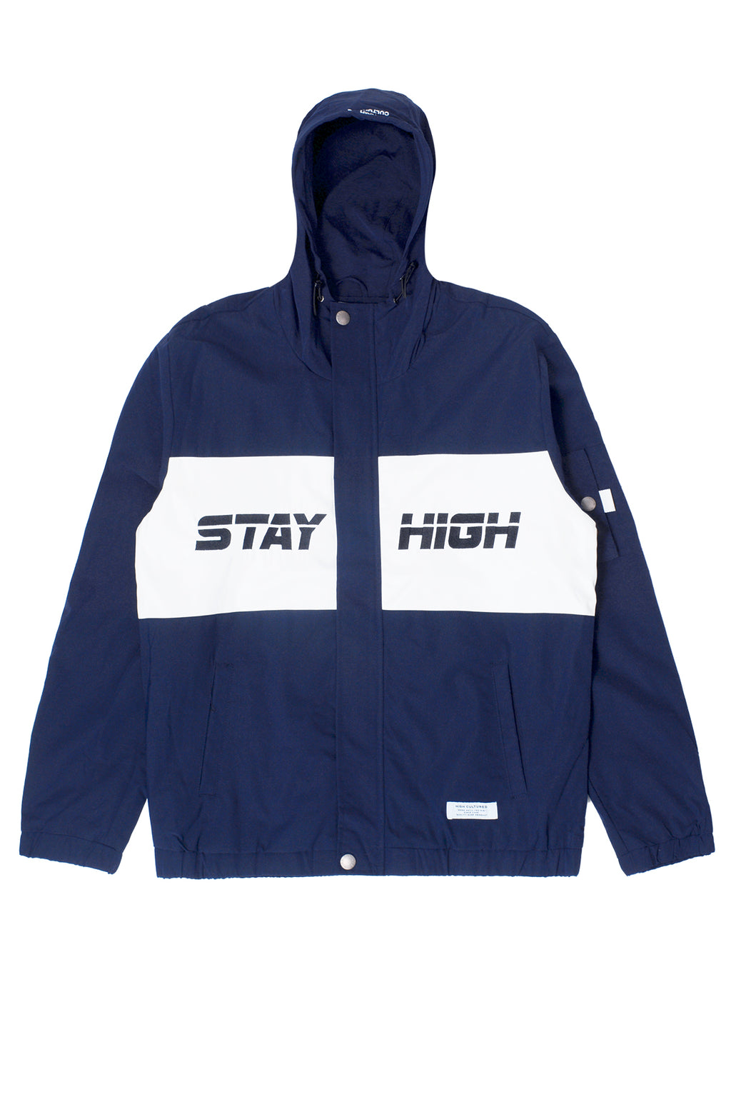 """STAY HIGH"" ATHLETICS HOODED JACKET 