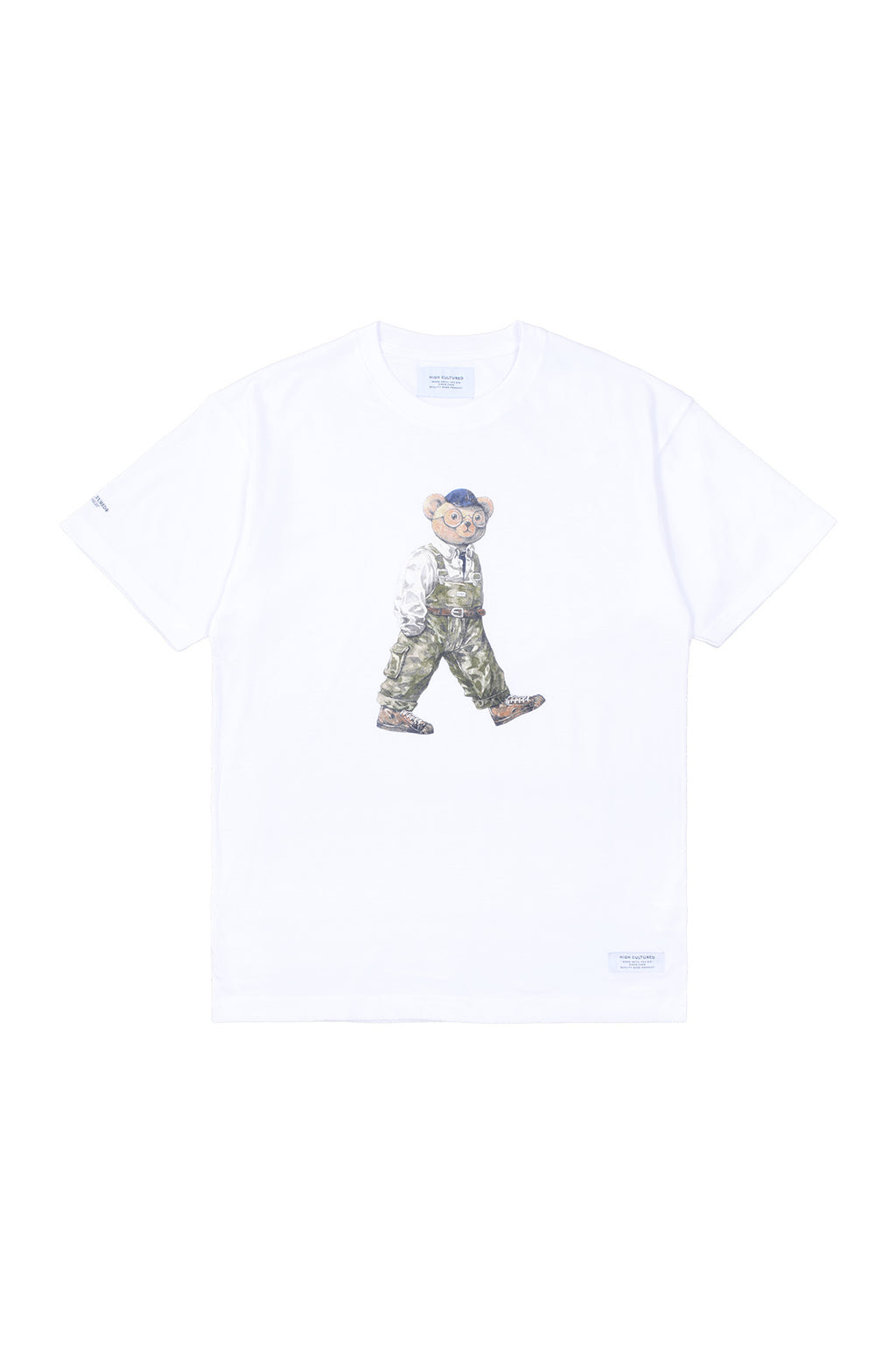 """LUKE, THE WALKING BEAR"" LOOSE TEE 