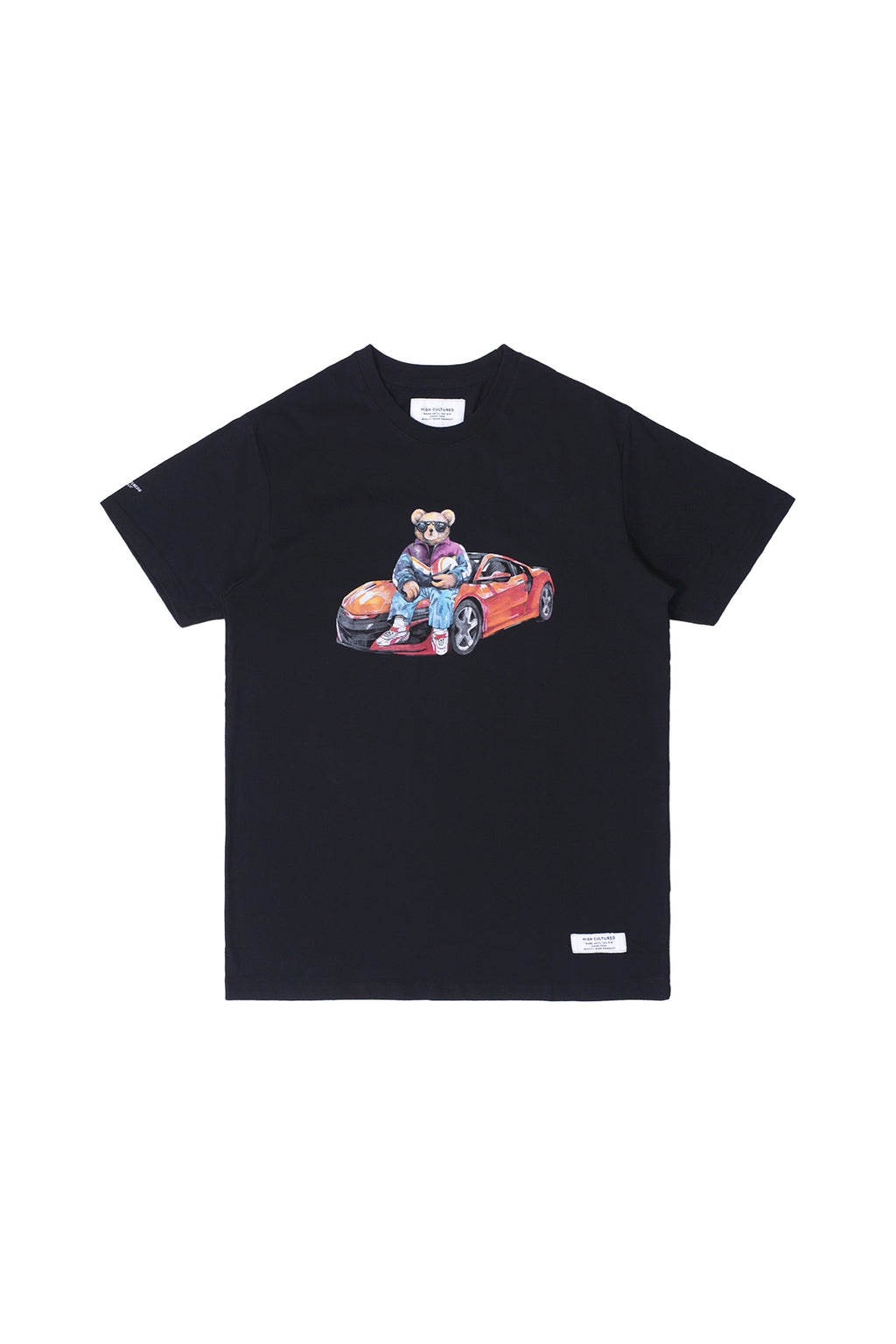 """LUKE, THE CAR RACER BEAR"" TEE 