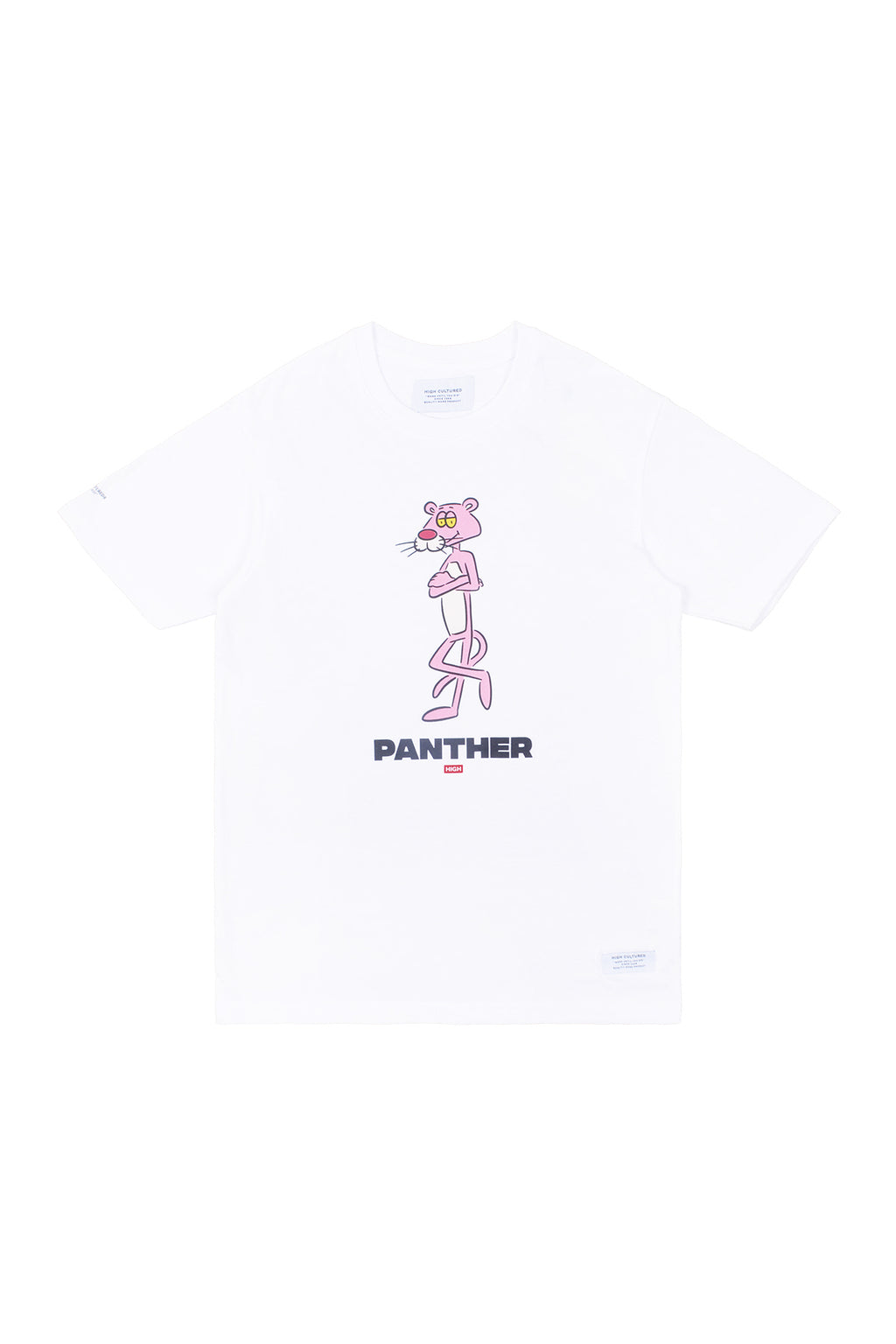 LAZY CLUB PANTHER TEE | WHITE - 777