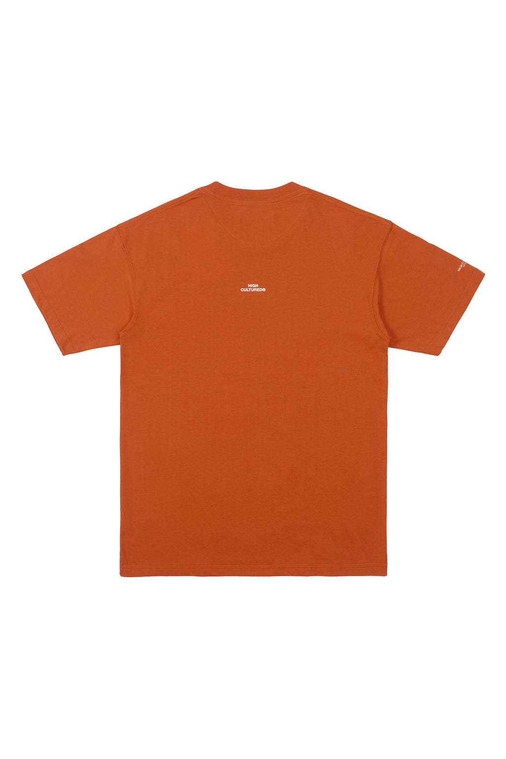 LAZY CLUB MOUSE TEE | ORANGE - 782