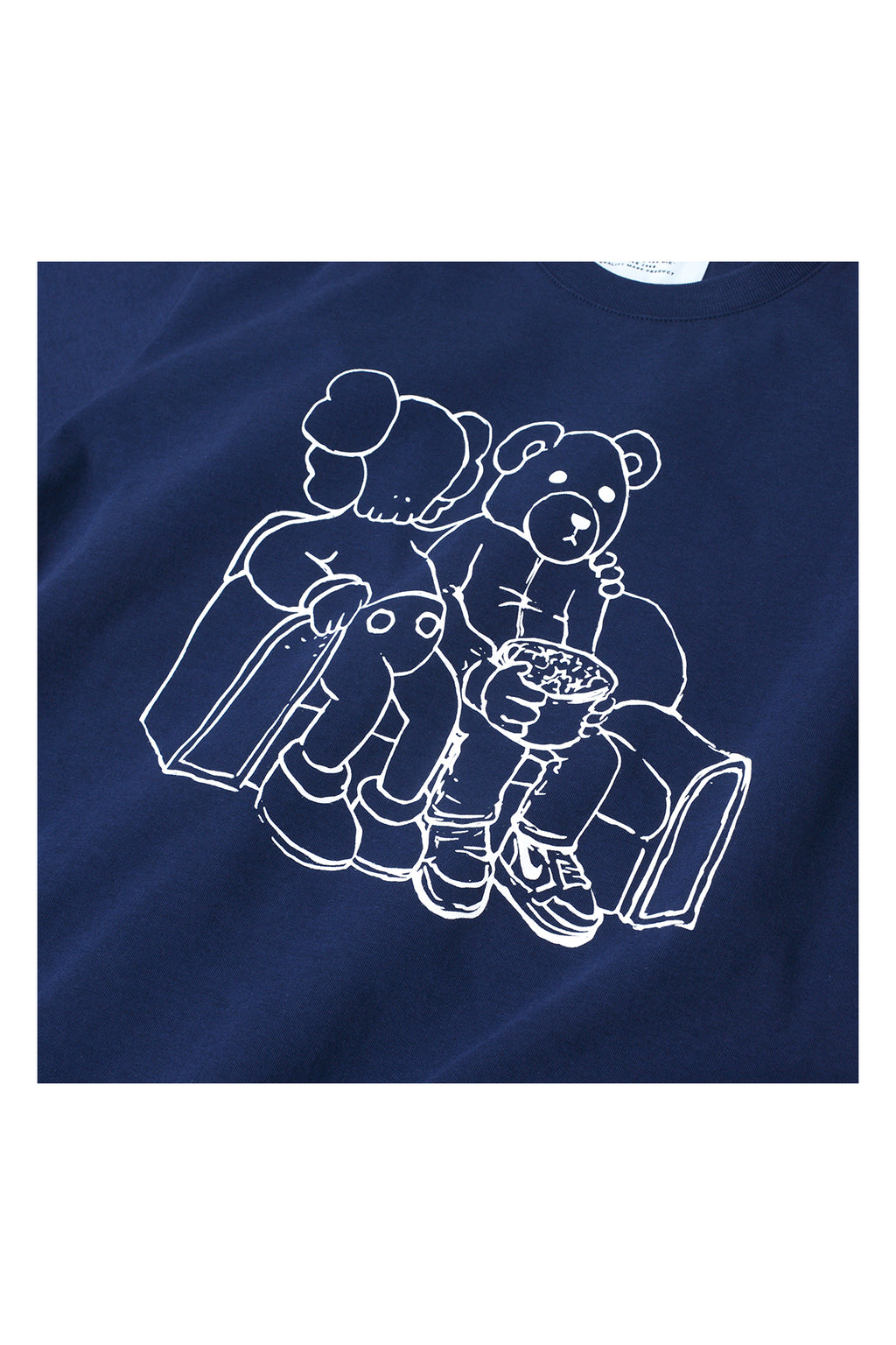 """LUKE, THE BEAR & SOFA"" TEE 