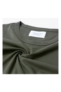 HIGH CULTURED CORE LOOSE TEE | ARMY - 797