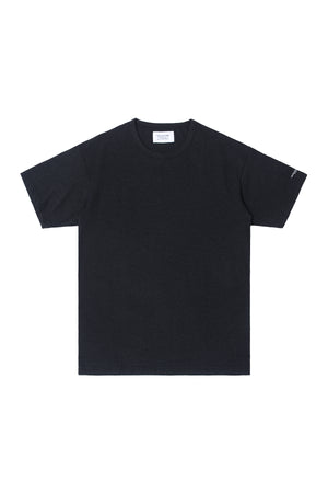HIGH CULTURED CORE LOOSE TEE | BLACK - 797