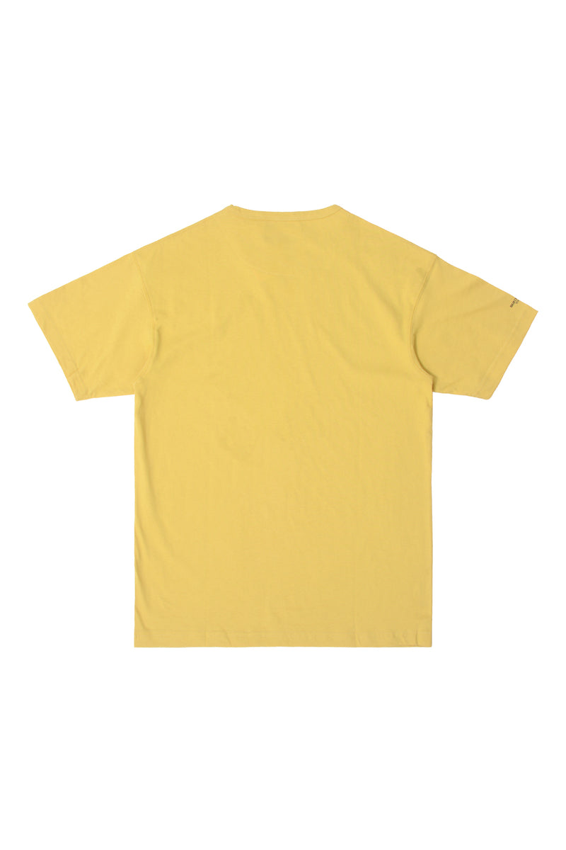 HIGH CULTURED CORE LOOSE TEE | YELLOW - 797