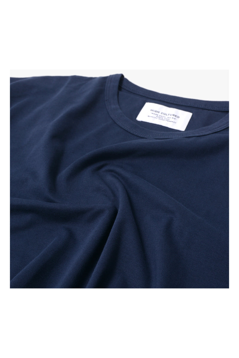 HIGH CULTURED CORE TEE | NAVY - 798