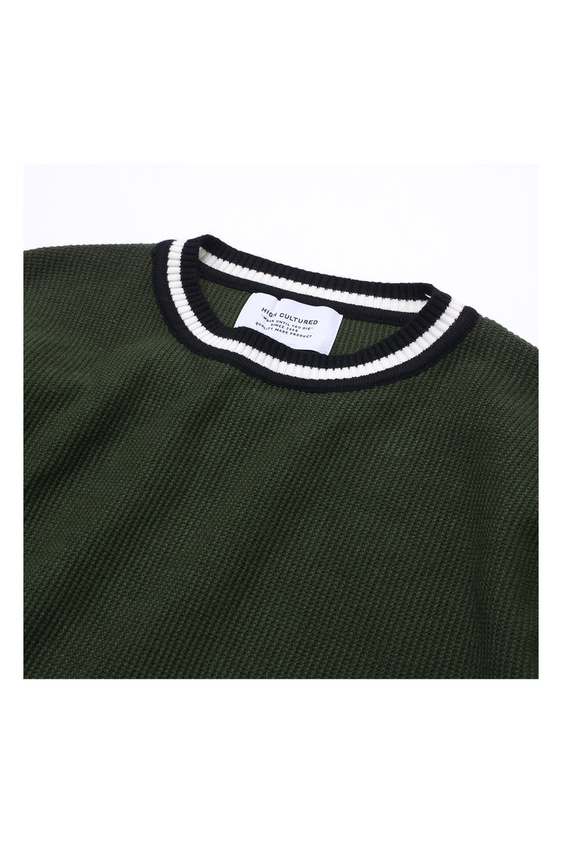 COLLEGE BOY KNIT | GREEN - 200