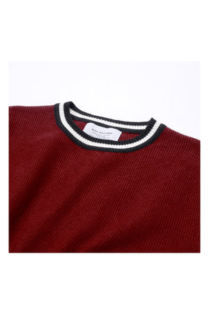 COLLEGE BOY KNIT | RED - 200