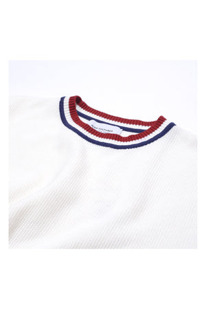 COLLEGE BOY KNIT | WHITE - 200