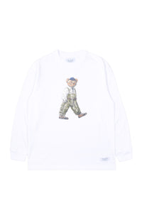 """LUKE, THE WALKING BEAR"" LOOSE LONG SLEEVE TEE 
