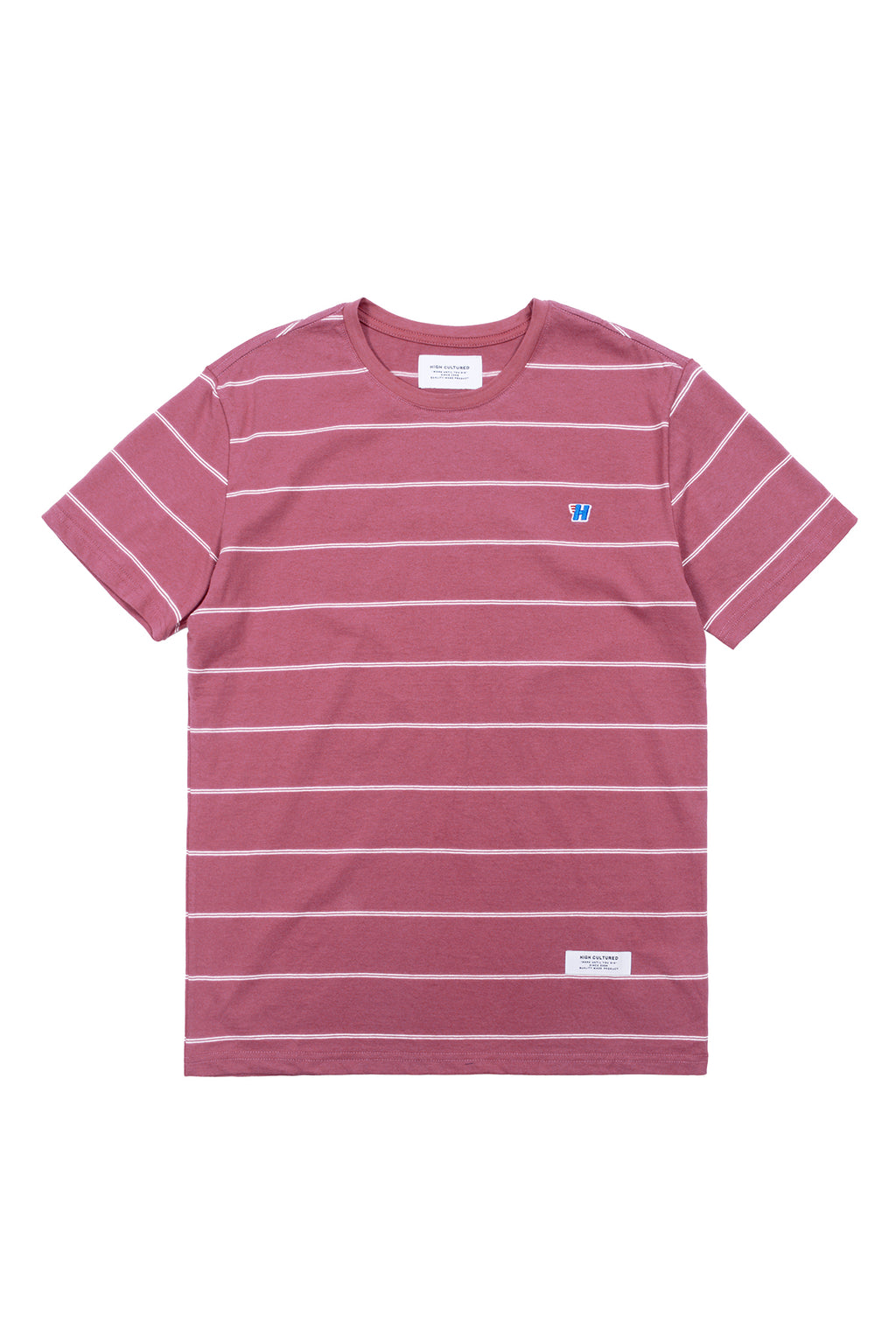 ULTRA LIGHT STRIPES 'H' WING TEE - 759