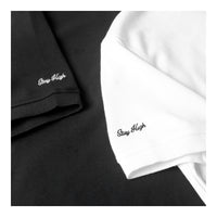 "PLAIN SLEEVE ""HIGH CULTURED"" EMBROIDERED COLLAR 