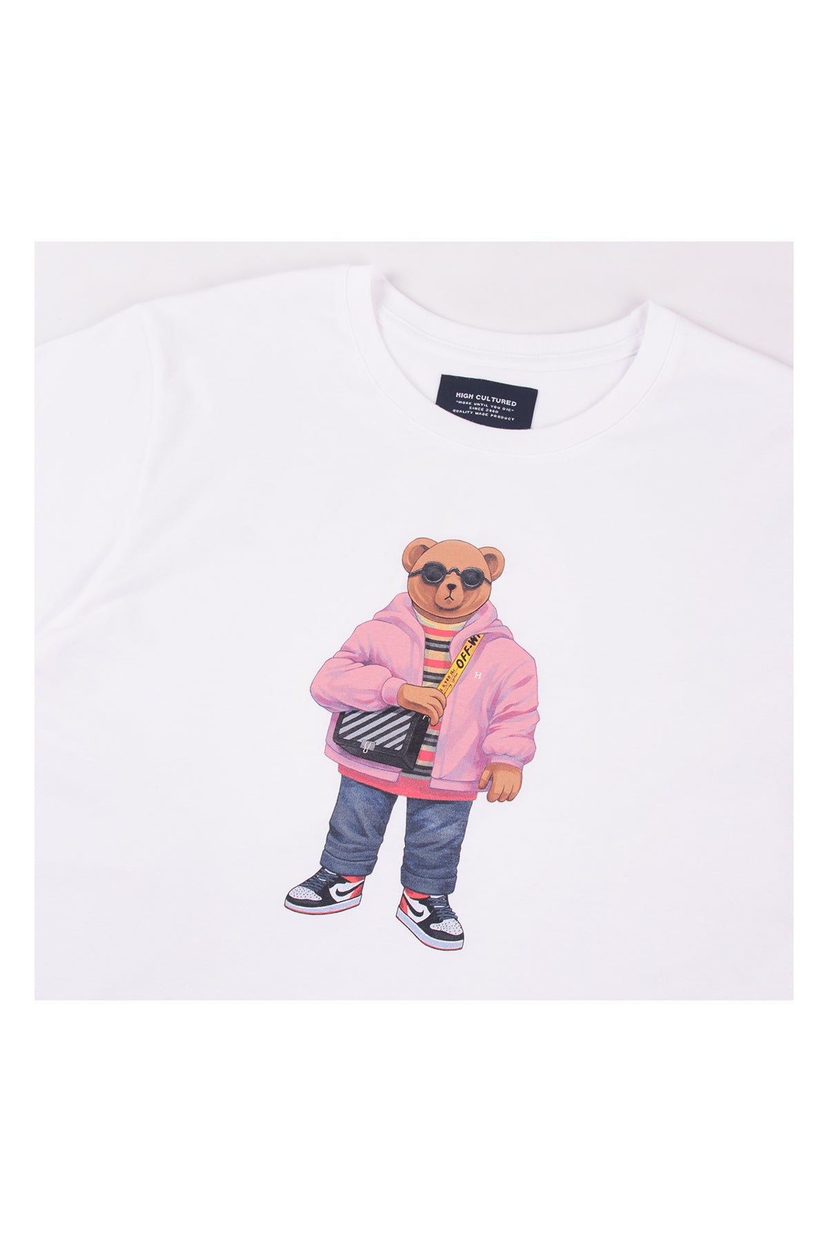 """LUKE, THE BAGGY BEAR"" TEE - 717"