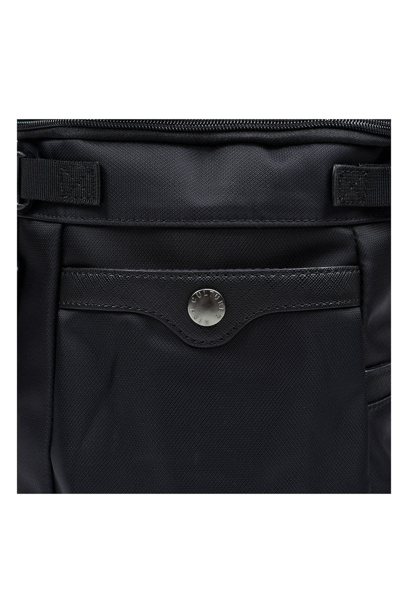 BASIC MULTIPURPOSE SHOULDER BAG | BLACK - 41