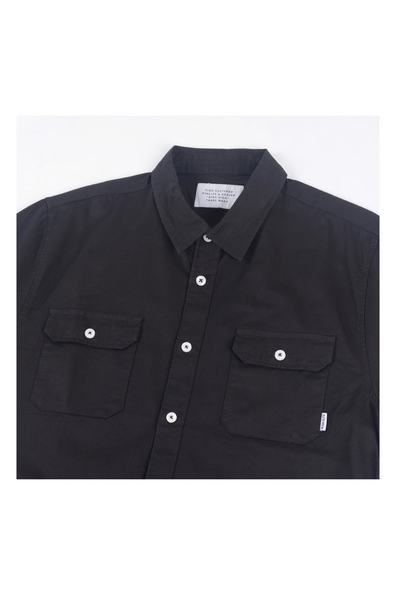 INDUSTRIAL WORKER  SHIRT | BLACK - 68