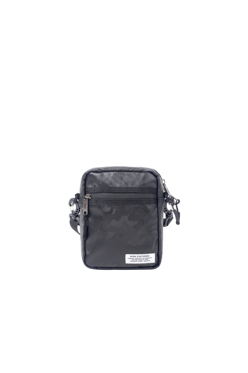 TWO-TONE CAMO SMALL ESSENTIAL BAG | BLACK - 29
