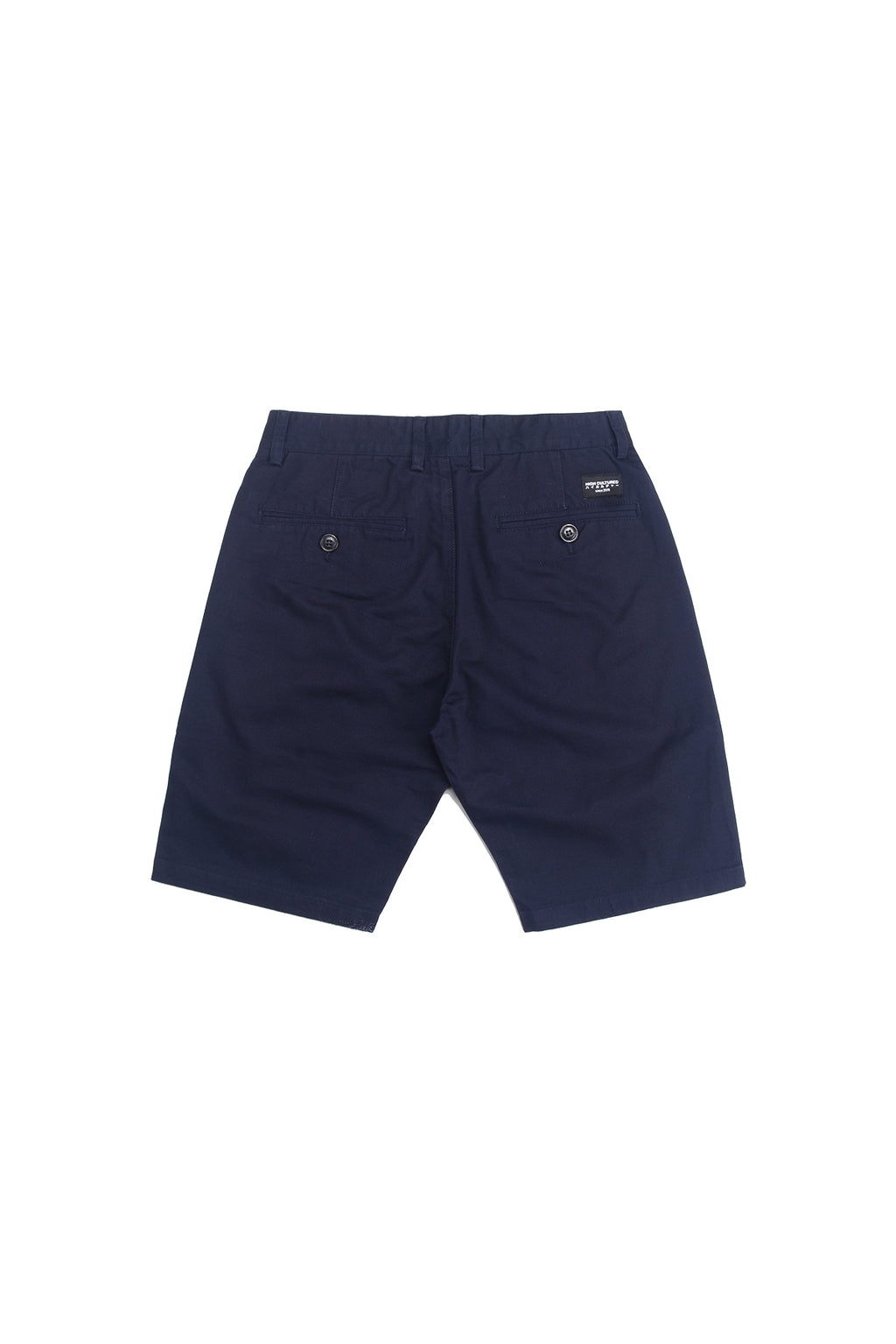 STANDARD-FIT CHINO SHORT PANT | NAVY - 94
