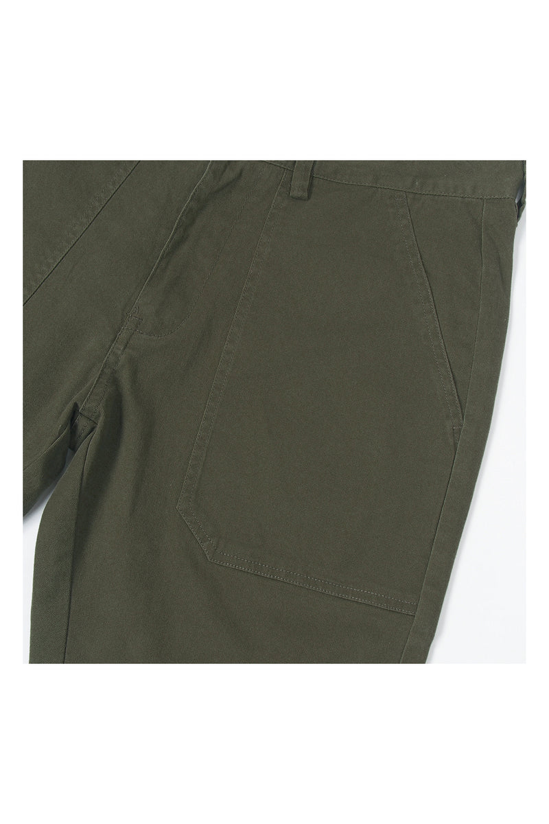 PATCH POCKET CHINO SHORT PANT | ARMY - 98