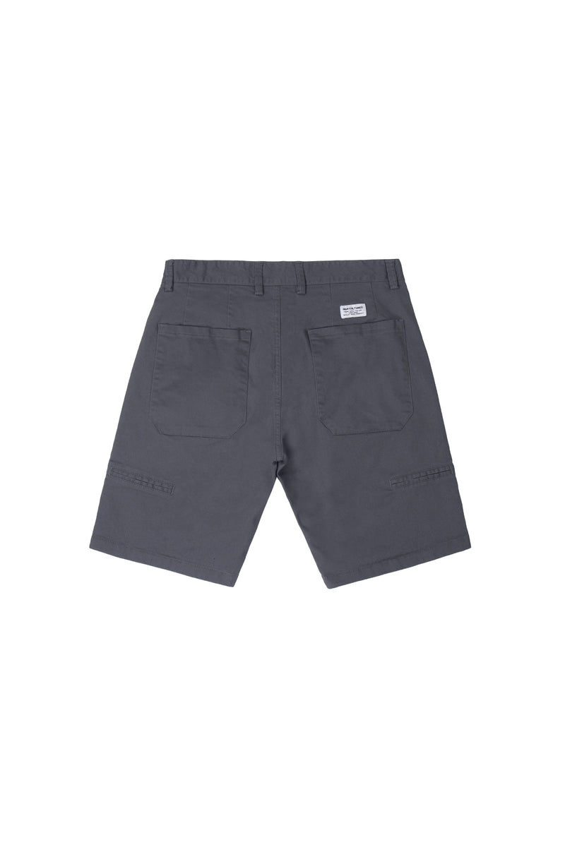 WORK CHINO SHORT PANT | GREY - 99