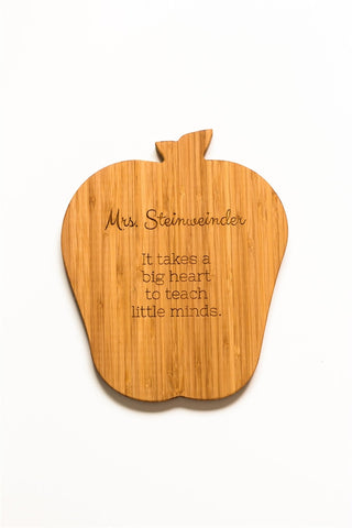 Apple Shape Bamboo - Teacher