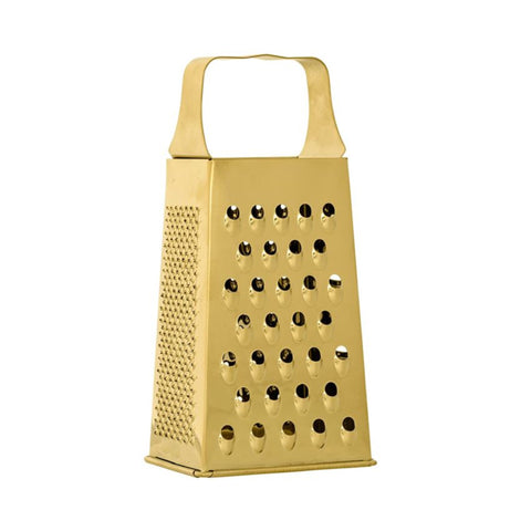 Stainless Steel Grater, Gold Finish