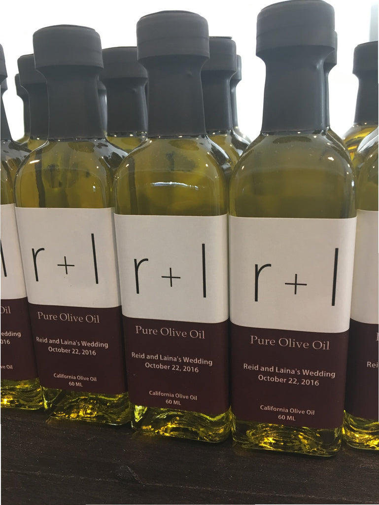Olive Oil Label - Lower Case
