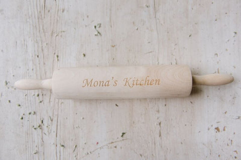 Rolling Pin - Personalized Name