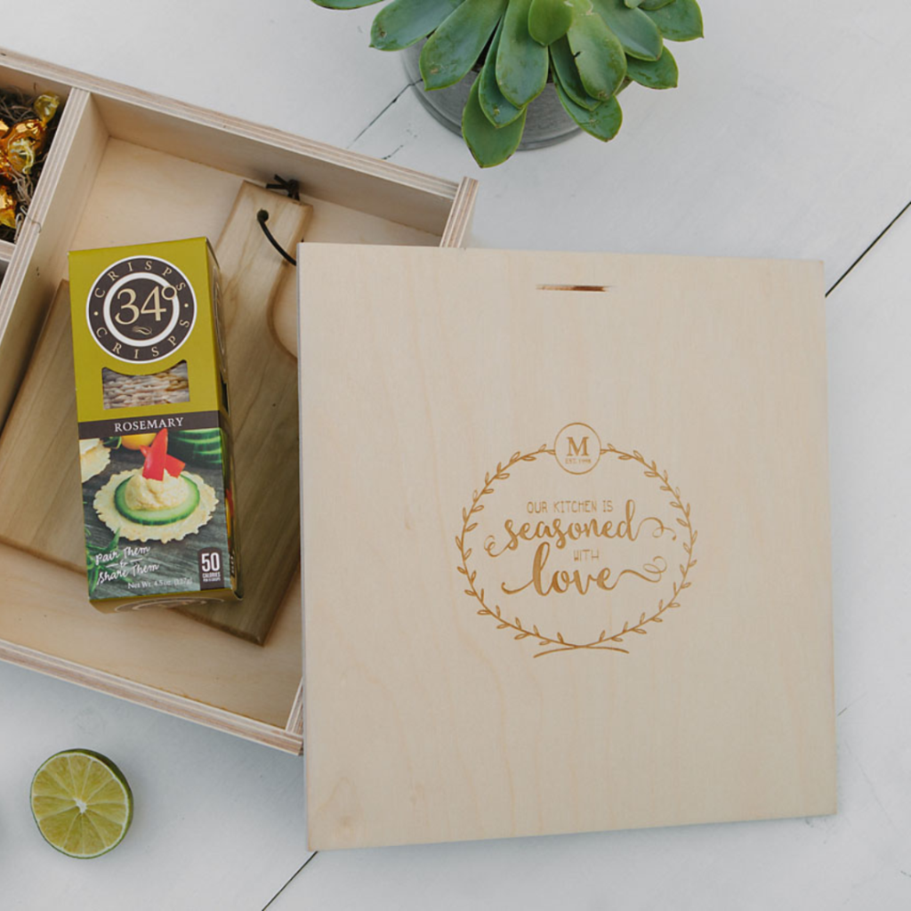 House Warming Box - Our Kitchen is Seasoned with Love