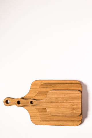Rectangle Bamboo Paddle -  Artisan Gift Sets